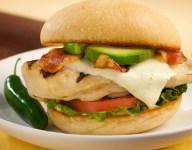 Southwest Pepperjack Chicken Club Sandwich