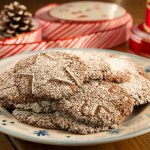 Peppermint Mocha Frappe Drop Cookies