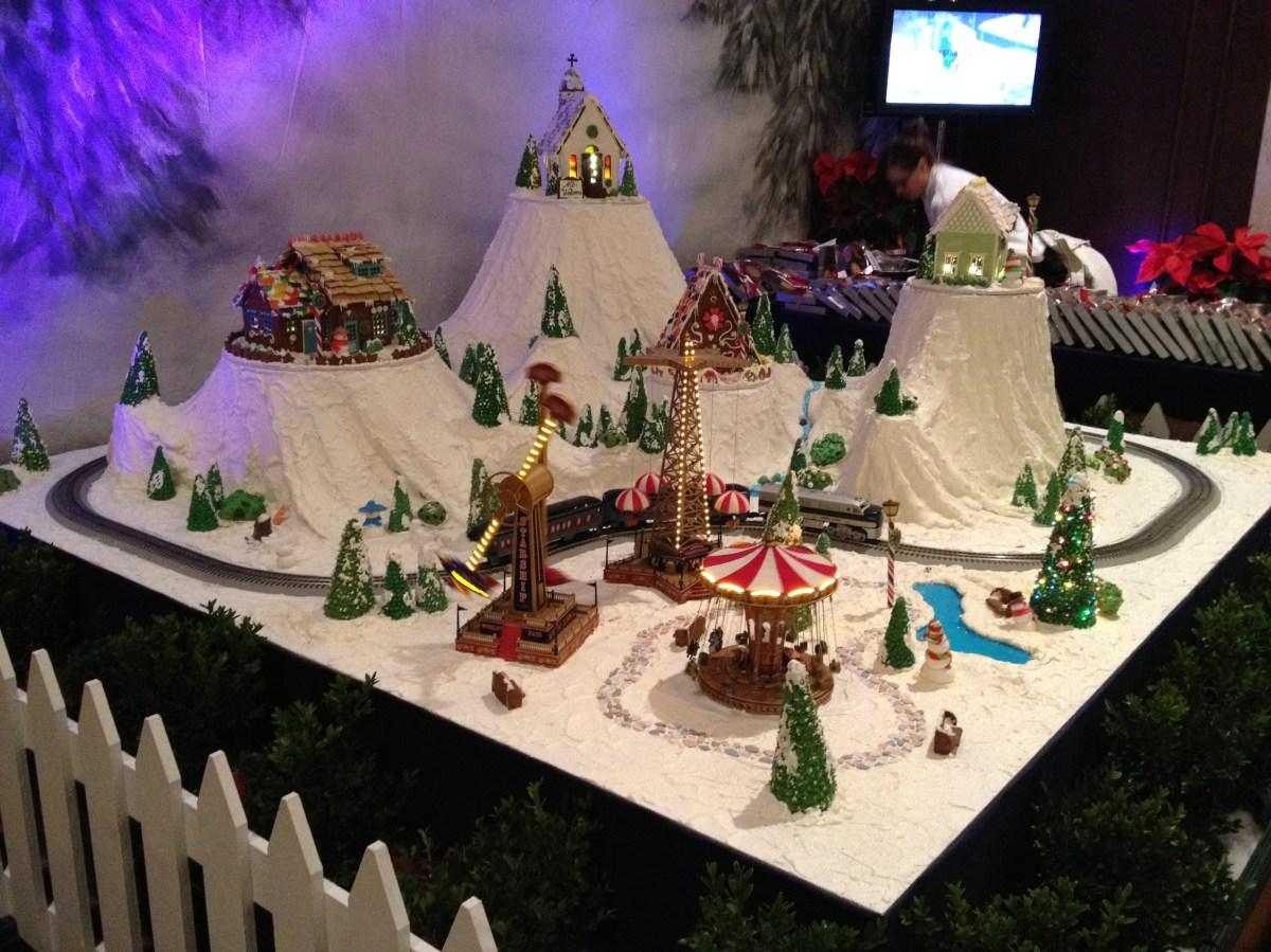 Drake Gingerbread house