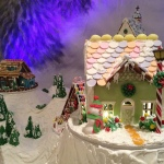 Drake Gingerbread house1