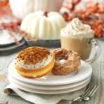 Krispy Kreme has a selection of pumpkin flavors!