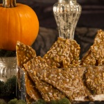 Pumpkin Sunflower Seed Brittle with Vanilla and Pepper