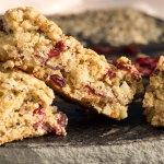 Quinoa Almond Cranberry Bars