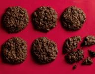 Maida Heatters Chocolate Cookies with Gin Soaked Raisins Recipe