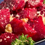 Roasted Beets with Sherry Vinaigrette