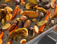 Roasted Garden Vegetables