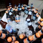 Beers were courtesy of Samuel Adams