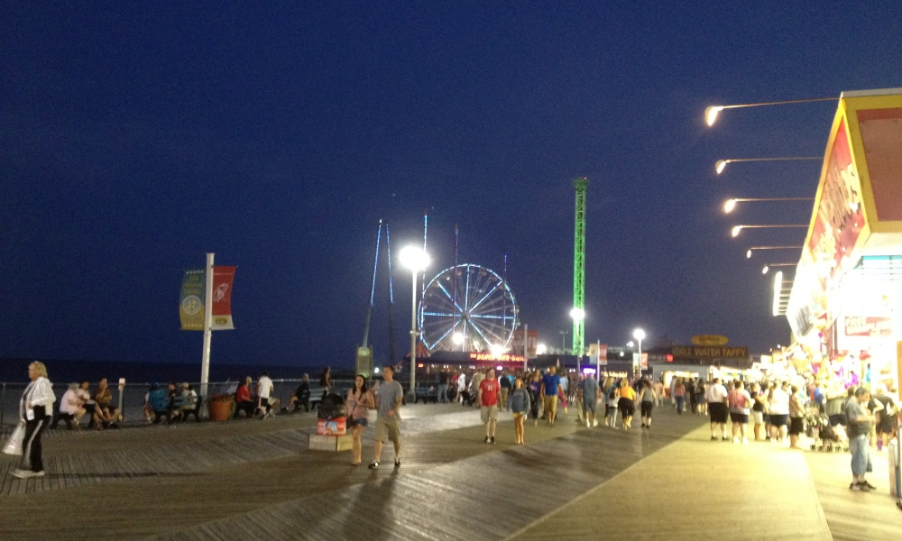 A view of Seaside Heights