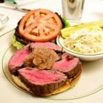 wine week steak sandwich