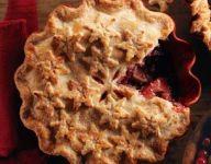 Spiced Apple-Cranberry Pie