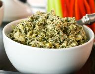 Spinach and Artichoke Addictive Dip