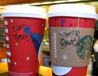 Message on a Coffee Cup at D.C. Starbucks