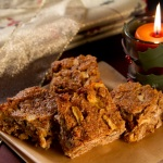 Sugared Dates and Apples Bars