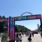 Entrance to Taste of Chicago