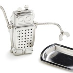 Robot Tea Infuser with Tray