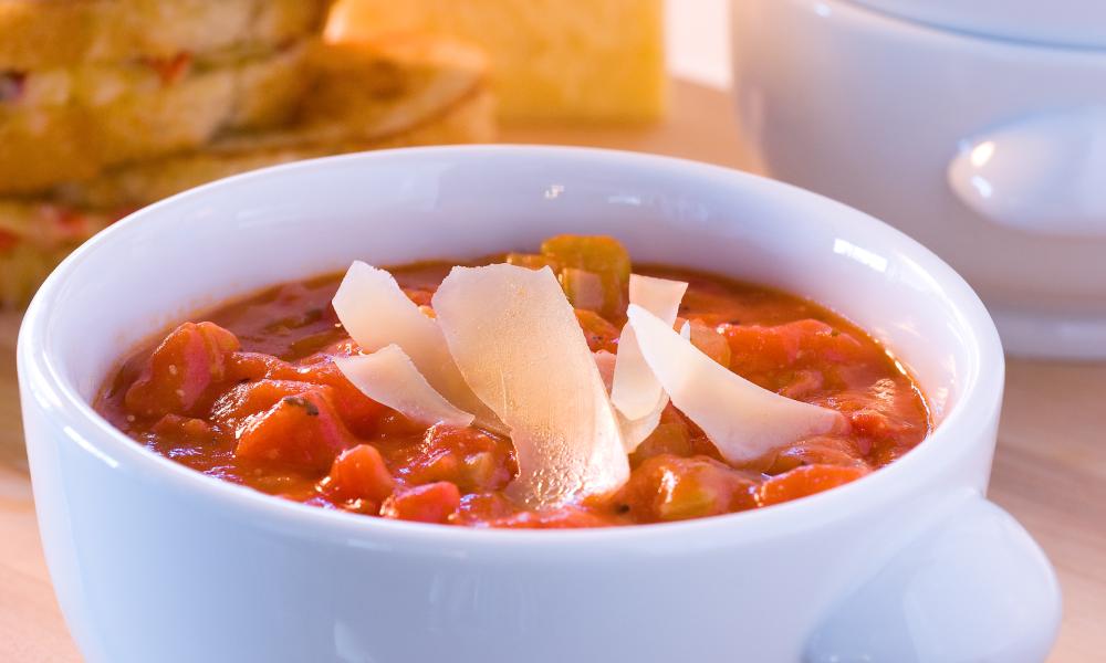 Tomato Parmesan Soup