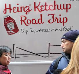 Food marketing truck