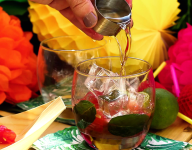 Watermelon Caipirinha Cocktail