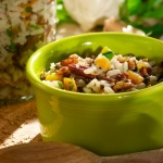 Wild Rice Salad with Apricots and Toasted Pecans