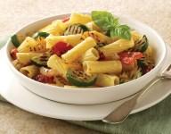 Garlic Roasted Vegetable Ziti Bake Recipe