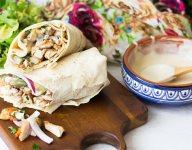 Grilled Chicken Shawarma Wrap Recipe