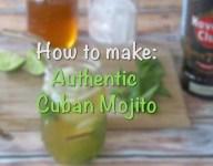 Make a Classic Cuban Mojito