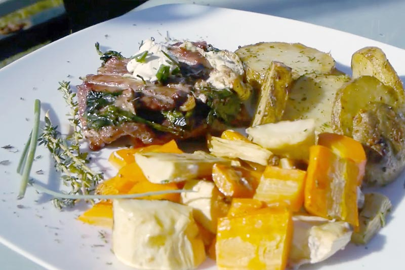 Recipe for Mediterranean Grilled Goose