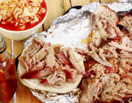 North Carolina BBQ Pulled Pork with Lexington Slaw