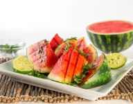 Spicy Grilled Watermelon Recipe