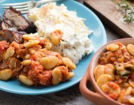 Barbecued Beans: Texas-Style