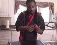 How To Make a Tomato Rose Garnish