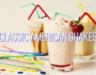 3 Classic American Milkshakes