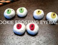 How to Make Cookie Frosting Eyeballs