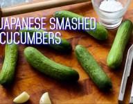 Japanese Smashed Cucumbers