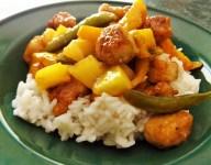 Sweet and Sour Mango Pork