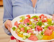 Watermelon and Heirloom Tomato Salad Recipe