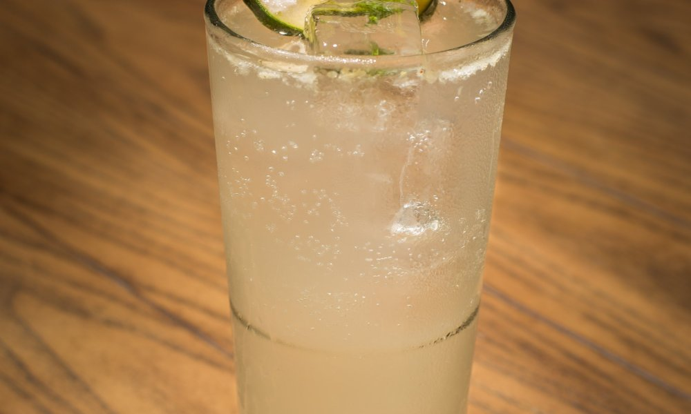 Jezebel Bar + Kitchen/Cucumber Mint Collins