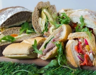 The Perfect Portable Picnic Loaf Sandwiches