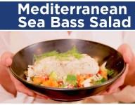Grilled Sea Bass with Greek Fennel Salad