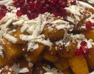 Pumpkin, Ricotta, and Pomegranate Seed Salad