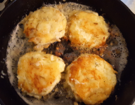 Rosemary Potato Soufflé