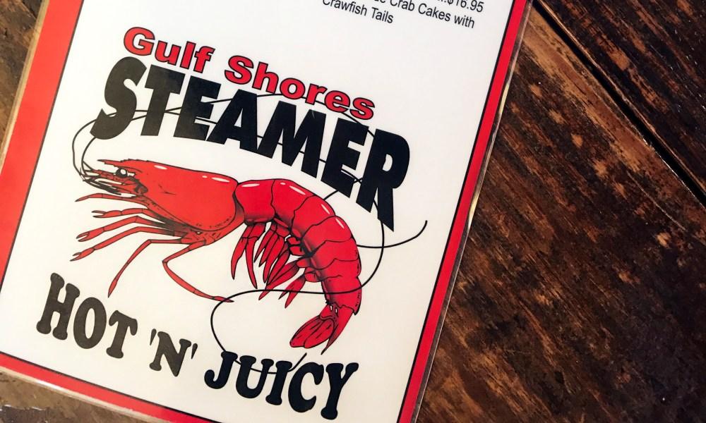 Gulf Shores Steamer Menu//Kaitlan Foland