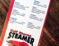 Alabama Gulf Coast Tour: Gulf Shores Steamer