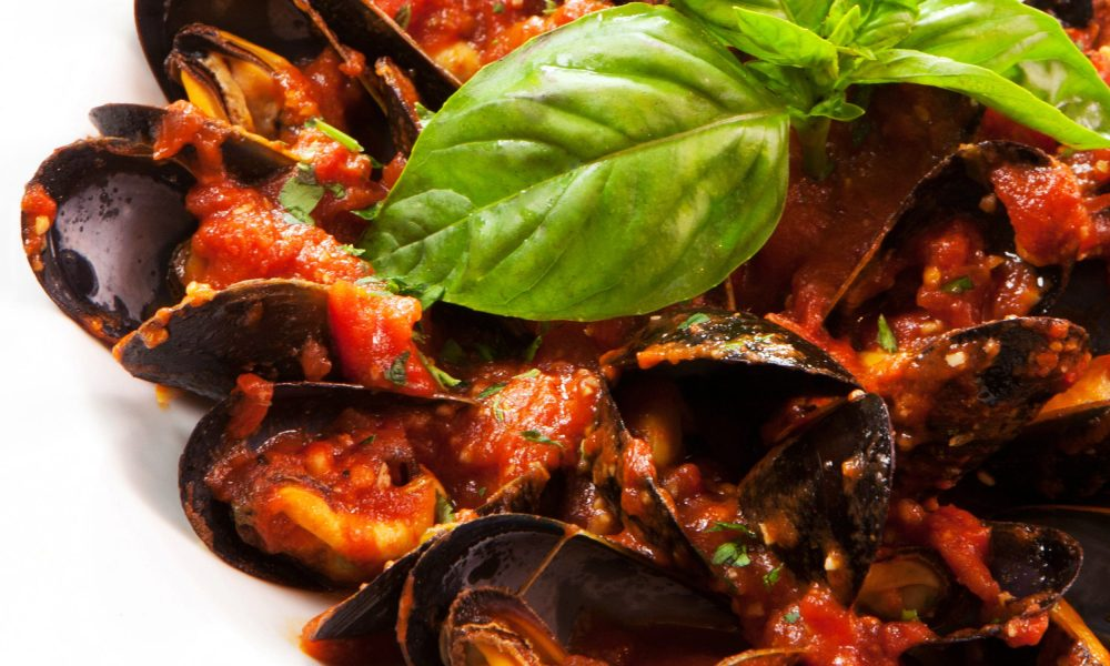 In honor of what would have been Frank Sinatra's 102nd birthday, we bring you recipes from his favorite haunt, Patsy's Italian Restaurant of New York®. This recipe for Frank's Clams Posillipo is not only one of Frank's favorites, it'll soon be one of yours.