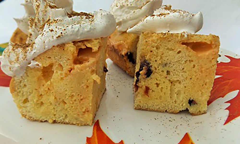 Literally meaning three milk cake, this Latin American cake is a super moist cake that will have you thinking about other ways you can flavor it and make it your own! Technically I should not be calling this Tres Leche because I only used 2 kinds of milk, the eggnog and whipped topping. But the classic preparation uses sweetened condensed milk, evaporated milk and heavy cream, which is just a little fat overindulgence for me.