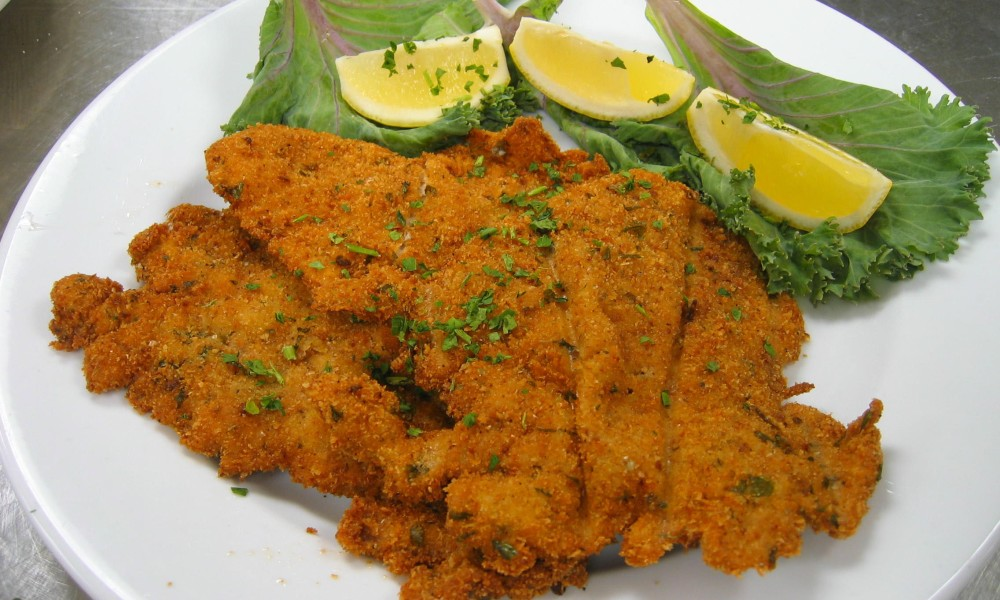 In honor of what would have been Frank Sinatra's 102nd birthday, we bring you recipes from his favorite haunt, Patsy's Italian Restaurant of New York. This recipe for Frank's Veal Cutlets Milanese is an Italian classic.