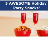 How To Make 3 Holiday Party Snacks