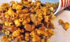 Use all nuts (roughly broken) of your choice, dried fruit of your choice or simply omit them all together and just enjoy crispy, spiced caramel popcorn. I use buttered and salted popcorn because everything just seems to go so well together.