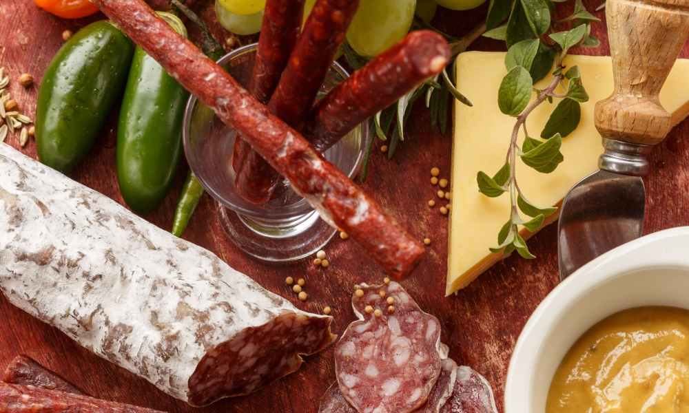 A holiday party isn't a party without a meat and cheese platter. As we've mentioned before, charcuterie is hot. Not to mention, one of the first stops your holiday guests will make this season, upon entering your home, is the appetizer table.