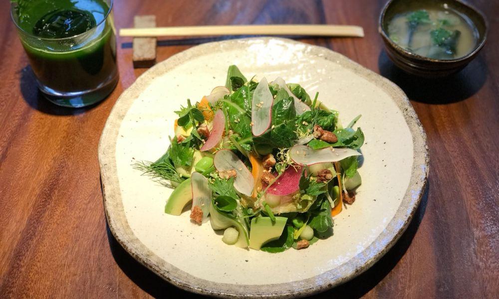 Tokyo Market Salad Bowl courtesy of Zuma New York